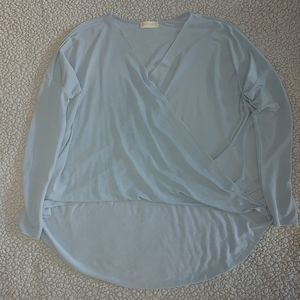Altar'd State cross-over blouse